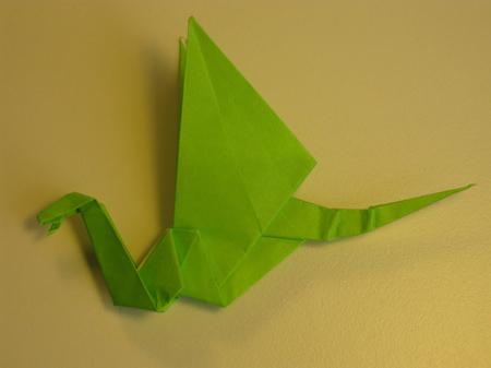 Istruzioni Origami Drago n.28