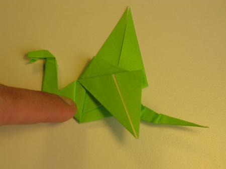 Istruzioni Origami Drago n.29
