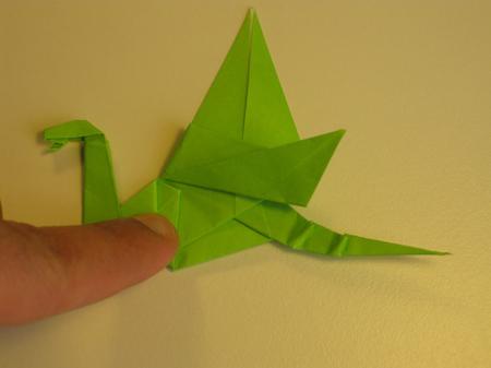 Istruzioni Origami Drago n.30