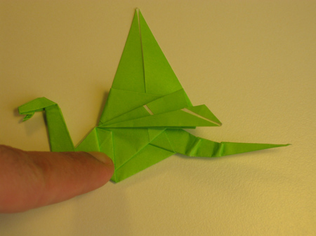 Istruzioni Origami Drago n.31