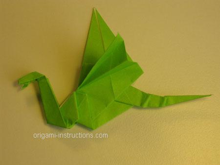 Istruzioni Origami Drago n.32