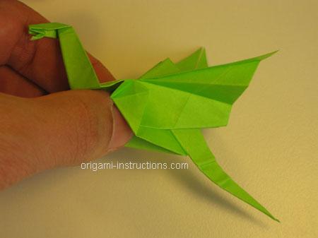 Istruzioni Origami Drago n.33