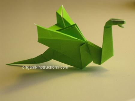 Istruzioni Origami Drago n.34