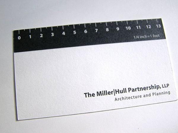 Biglietto da Visita Architetti Geometri n.2