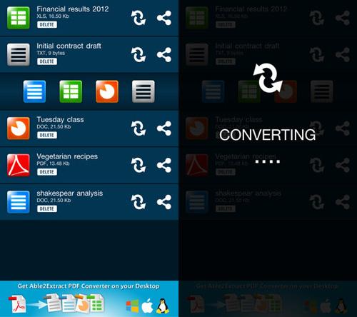 Immagine dell'applicazione Able2Extract PDF Converter