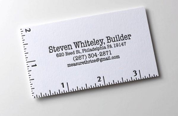 40 esempi di biglietti da visita per architetti e geometri - Creative names for interior design business ...