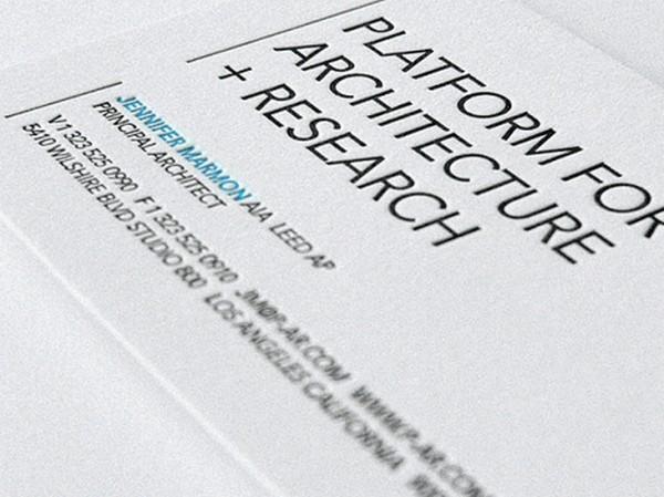 Biglietto da Visita Architetti Geometri n.15