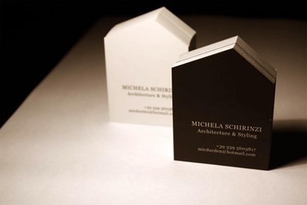 40 esempi di biglietti da visita per architetti e geometri for Case realizzate da architetti