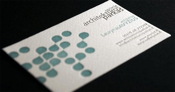 Biglietto da Visita Architetti Geometri n.10