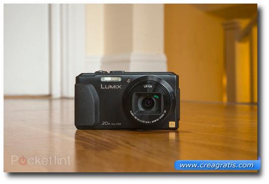 Immagine della fotocamere compatta Panasonic Lumix TZ40