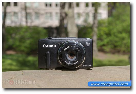 Immagine della fotocamera compatta Canon PowerShot SX280 HS
