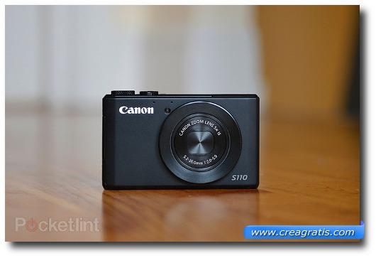 Immagine della fotocamera compatta Canon PowerShot S110