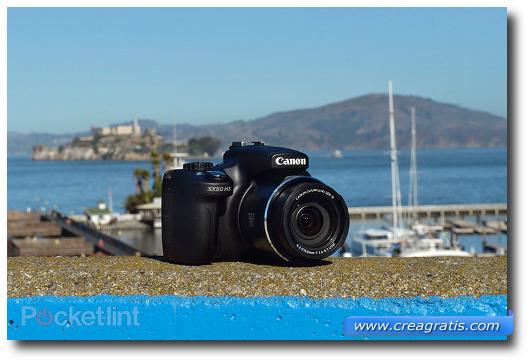 Immagine della fotocamera compatta Canon PowerShot SX50 HS