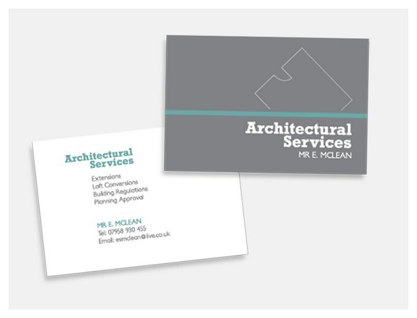 Biglietto da Visita Architetti Geometri n.28