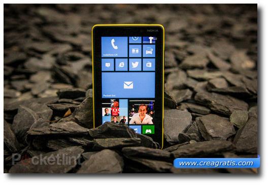Immagine dello smartphone Nokia Lumia 820