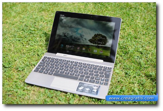 Immagine del tablet Asus Transformer Pad Infinity