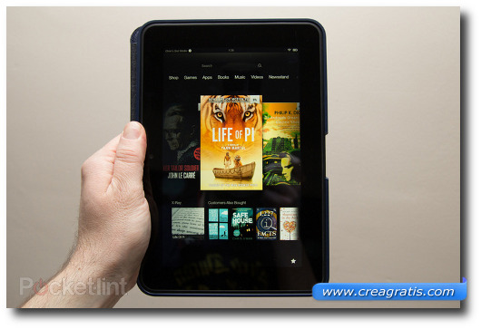 Immagine del tablet Amazon Kindle Fire HD 8.9