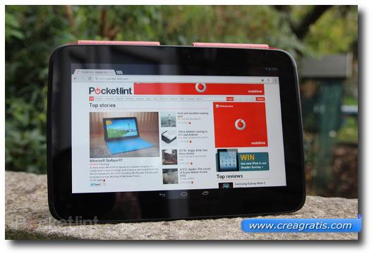 Immagine del tablet Google Nexus 10