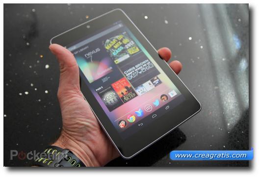 Immagine del tablet Nexus 7