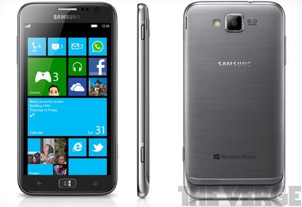 Immagine dello smartphone Samsung ATIV S