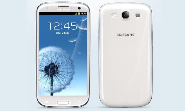Immagine dello smartphone Samsung Galaxy S3