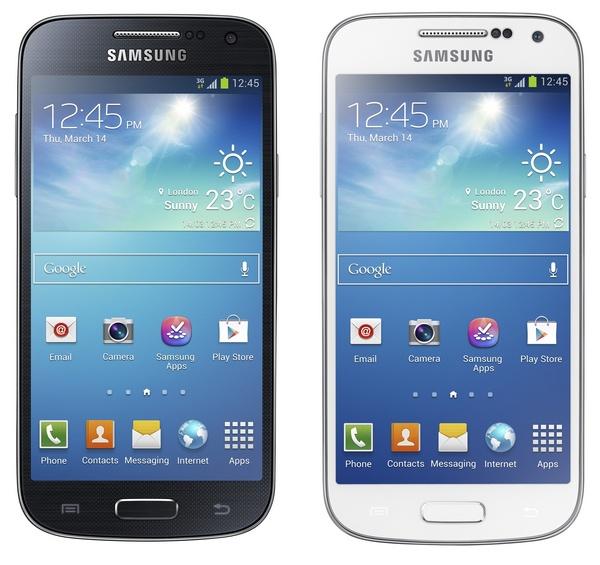 Immagine dello smartphone Samsung S4 Mini
