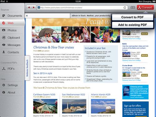 Immagine dell'applicazione To PDF