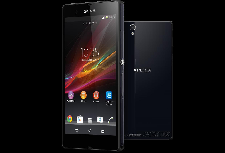 Immagine dello smartphone Sony Xperia Z