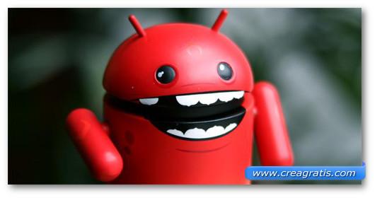 Immagine sul malware Android.Trojan.FakeDoc.