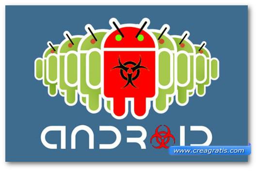 aImmagine sul malware Android.Trojan.SMSSend.
