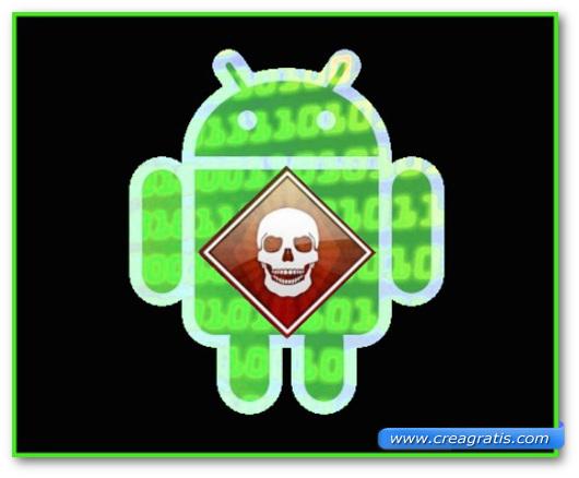 Immagine sul malware Android/MarketPay.A
