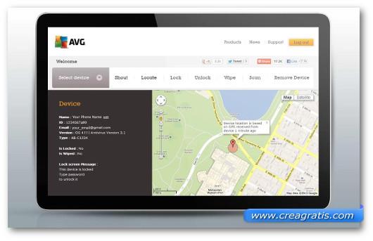 Immagine di AVG Antivirus Free per Android