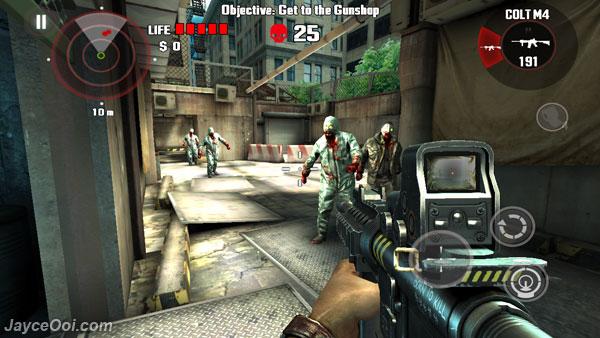 Immagine del gioco Dead Trigger per Android