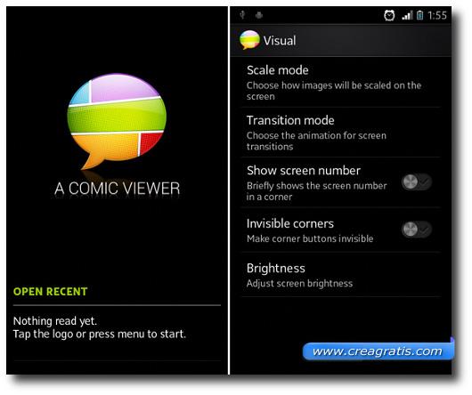 Immagine dell'applicazione A Comic Viewer per Android