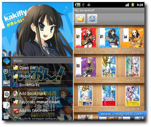 Immagine dell'applicazione Perfect Viewer per Android