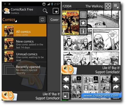 Immagine dell'applicazione ComicRack per Android