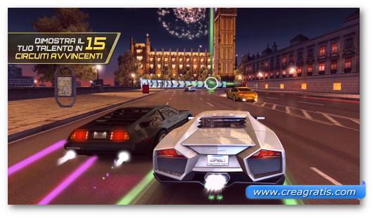 Gioco di corsa Asphalt 7: Heat per Android