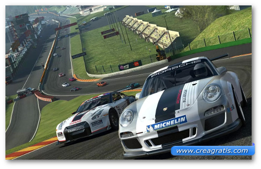 Gioco di corsa Real Racing 3 per Android