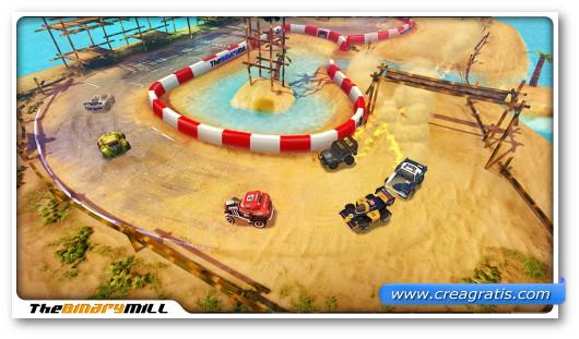 Gioco di corsa Mini Motor Racing per Android