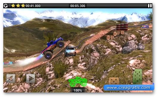 Gioco di corsa Offroad Legends per Android