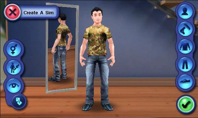 Immagine del gioco The Sims 3 per Android