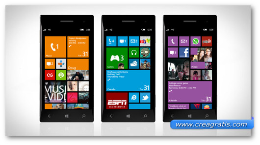Immagine generica su Windows Phone