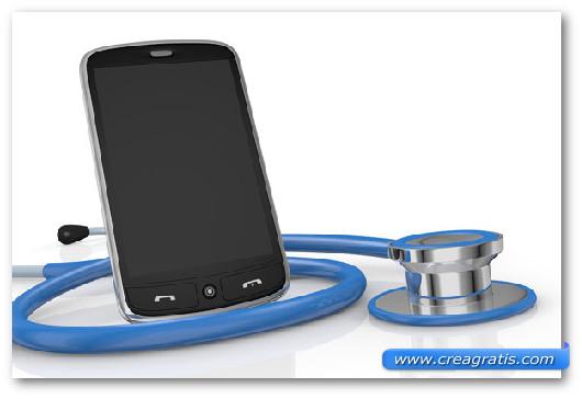 Immagine generica sui sintomi di uno smartphone Android infettato
