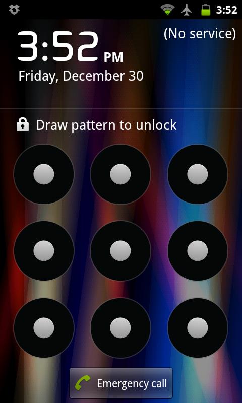 Schermata di Blocco di Android