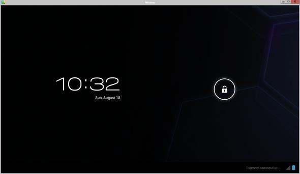 Schermata di sblocco di Android
