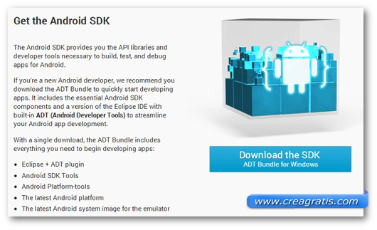 Immagine su Android SDK