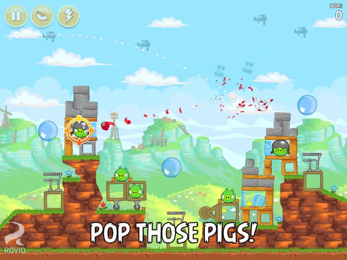 Immagine del gioco Angry Birds per Android