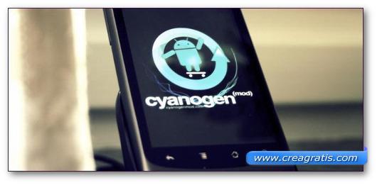 Immagine della ROM CyanogenMod