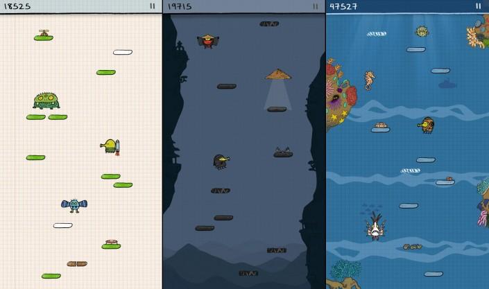 Immagine del gioco Doodle Jump per Android