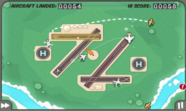 Immagine del gioco Flight Control per Android